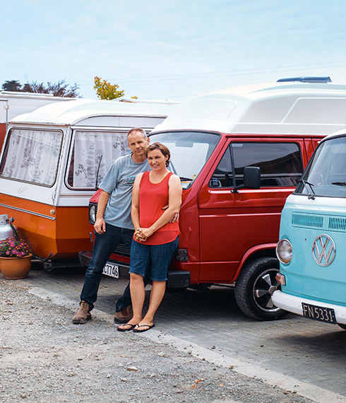 Bevan and Andrea of Classic Campers New Zealand