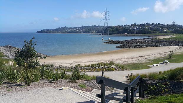 Two new swimming beaches have been created in Manukau Harbour.