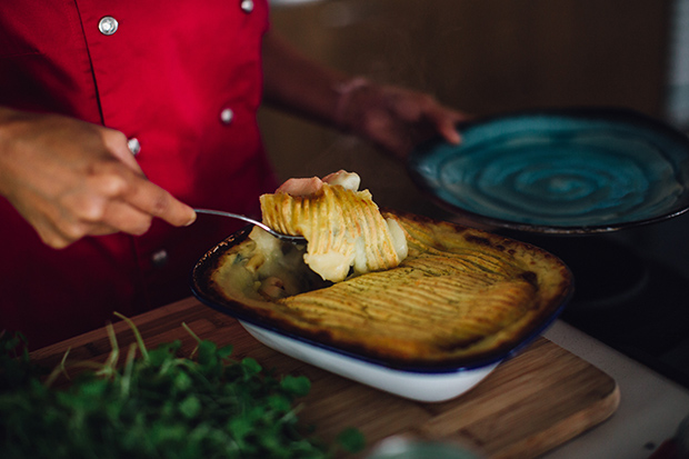 Thai Fish Pie. Photo: Anna Kidman