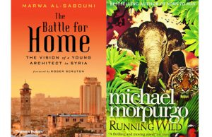 book reviews 'The Battle for Home' and 'Running Wild'.