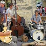 Musicians in the Place aux Herbes