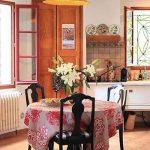 Peta Mathias' French kitchen.