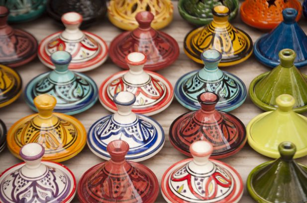 Tagines in Morocco,