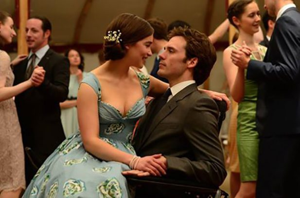 Emilia Clarke and Sam Claflin in Me Before You.