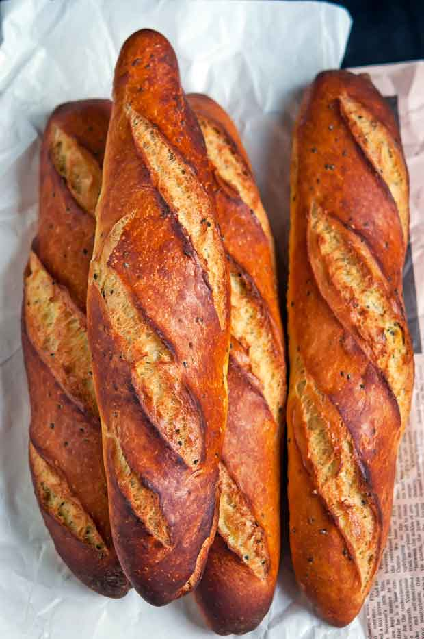 Recipe: Easy no-knead baguette - thisNZlife