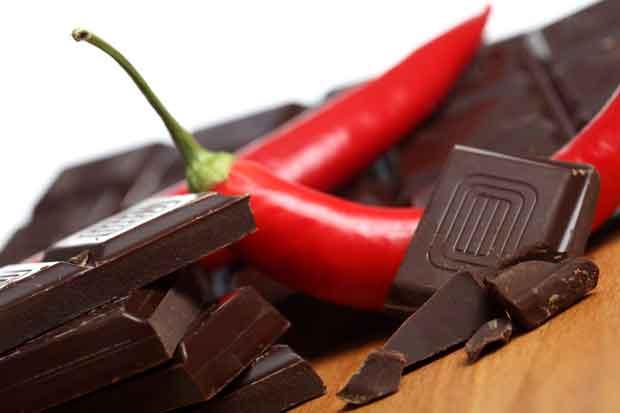 chocolate and chilli