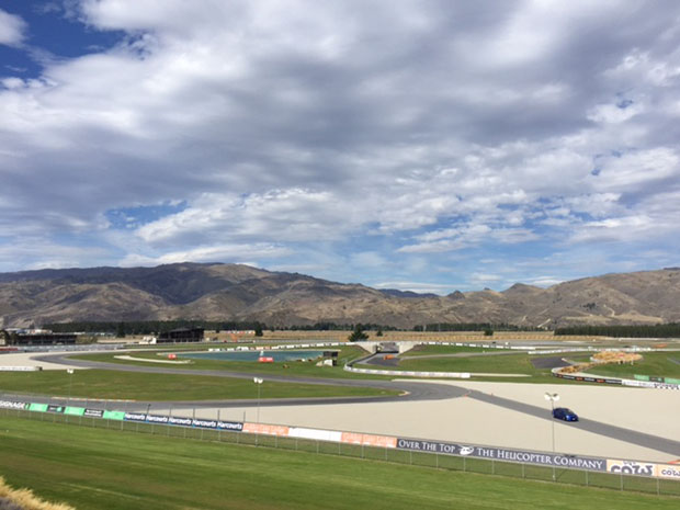 The track at Highlands Motorsport Park in Cromwell.