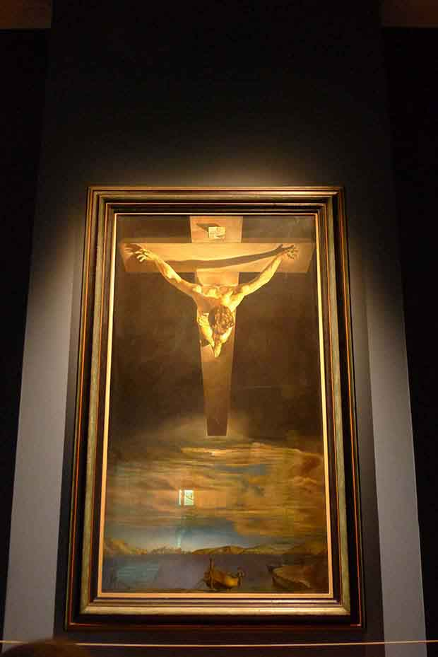 Christ of St John of the Cross by Salvador Dali.