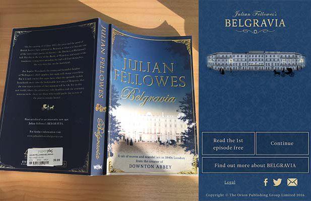 Belgravia app vs book