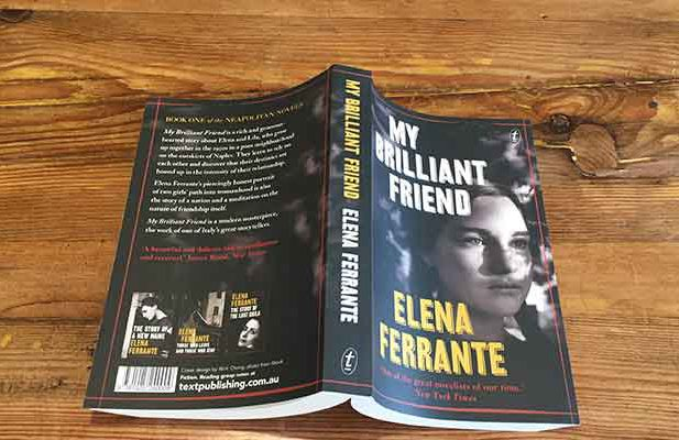 Elena Ferrante My Brilliant Friend