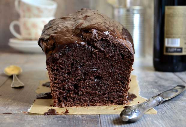 Chocolate stout cake.