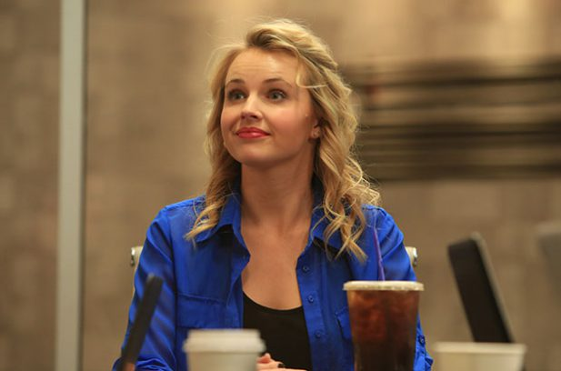 Kimberley Crossman as Nikki Hart in Hashtaggers.