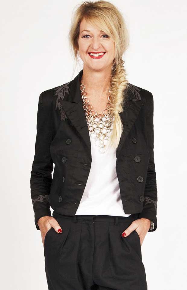 Jenny Drury owner and director of Ketz-ke fashion label.