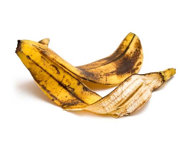 Banana peel.