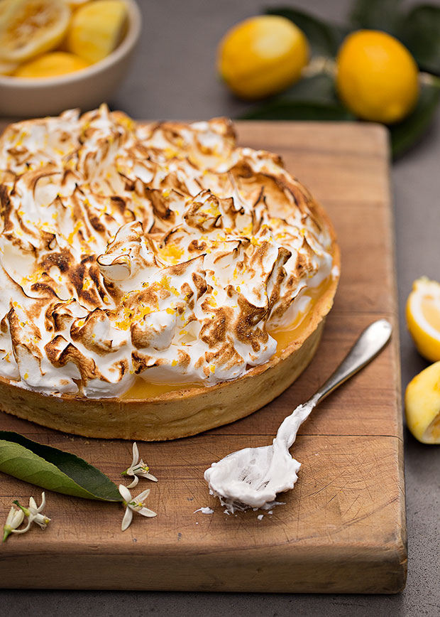 Simon Wrights's Lemon Meringue Pie