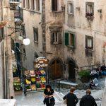 The narrow alleyways of Scanno.