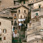The mountain village of Scanno.