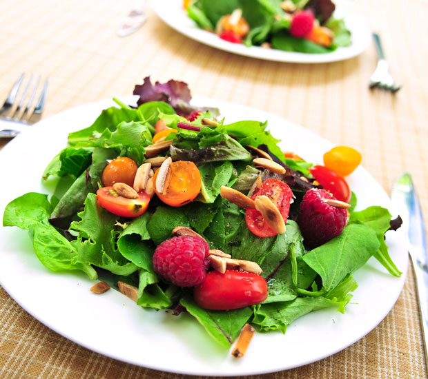 Get creative with your salads: Photo iStock.