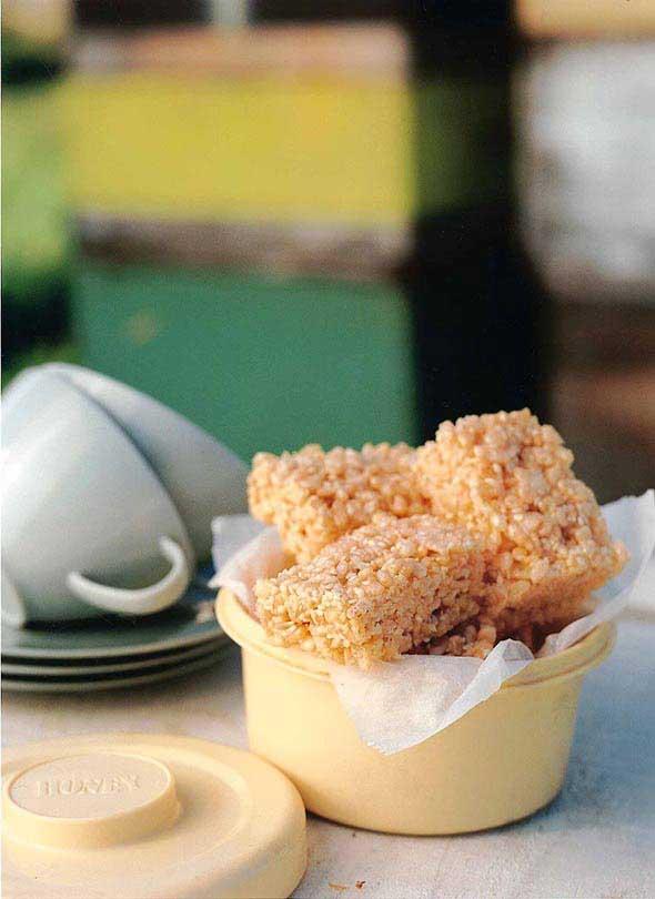 honey rice crisps