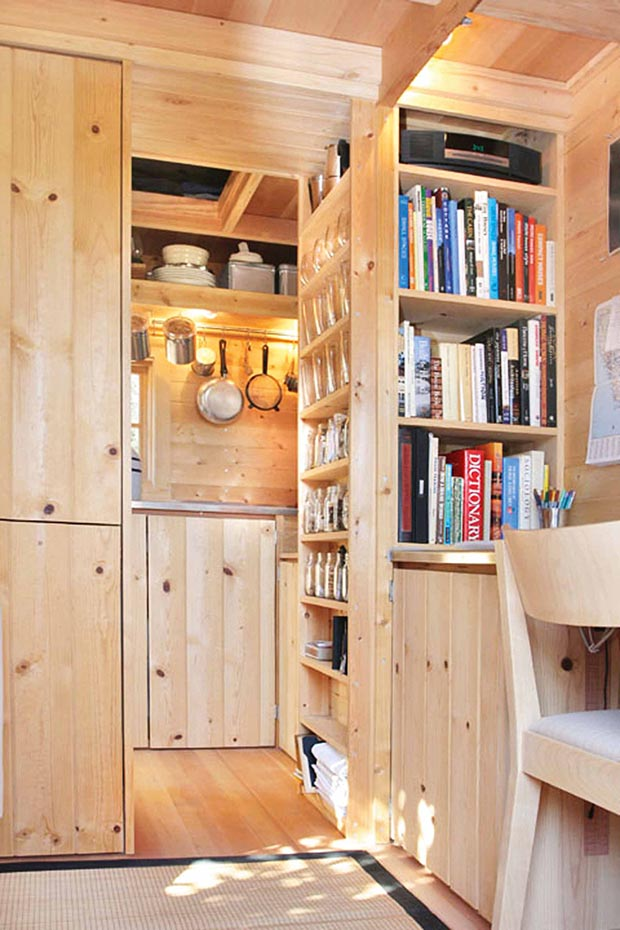 Tumbleweed Tiny House Company Build It: Family Of Five Living Large In A 20sqm Off-grid Tiny House