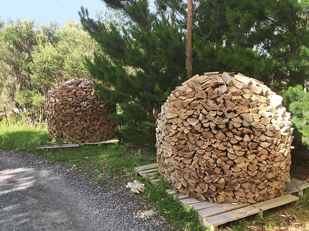 The secrets to stacking wood like a Norwegian