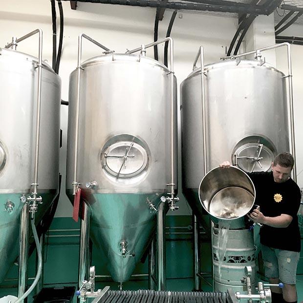 North End Brewery, Like Ahern, Kieran Haslett- Moore, sour beer, Waikanae