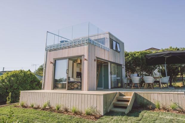 35sqm Raglan tiny home wows George Clarke - thisNZlife