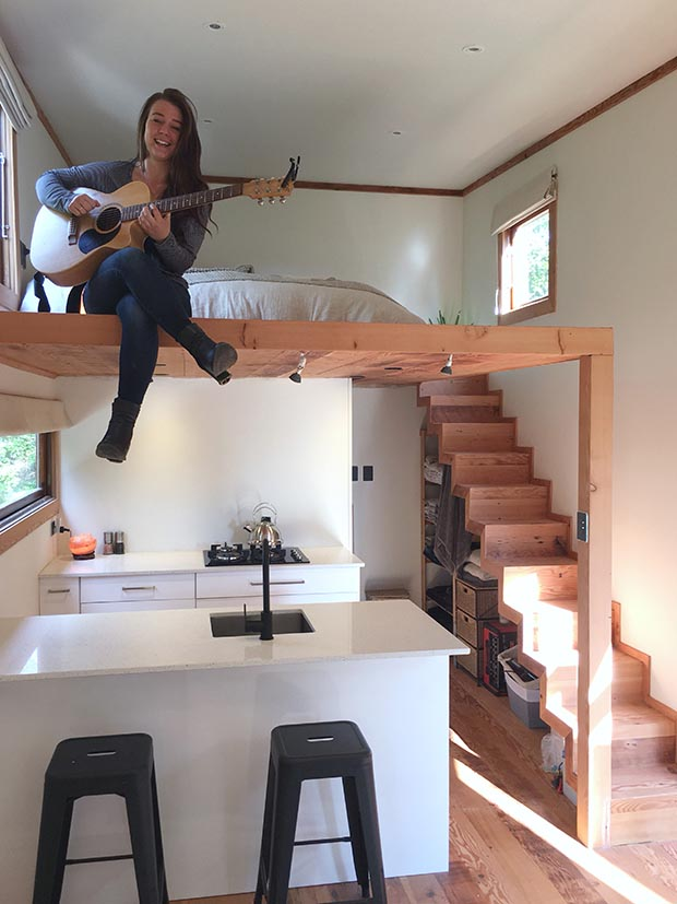 Tiny Home Designs Plans: Tiny House Business Booming For Young Wellingtonian