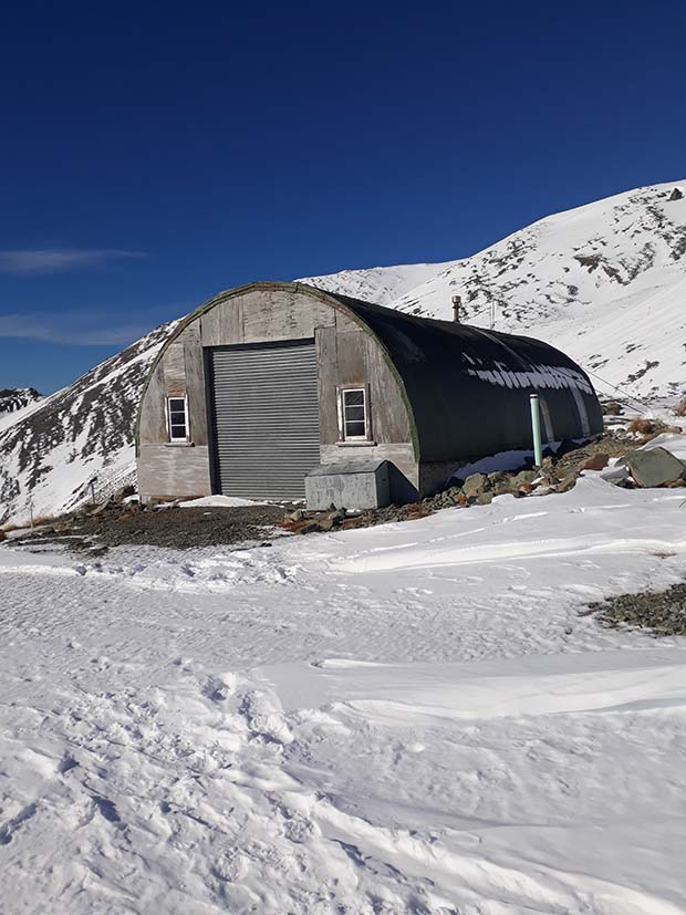 Uncrowded remote Awakino ski field new zealand