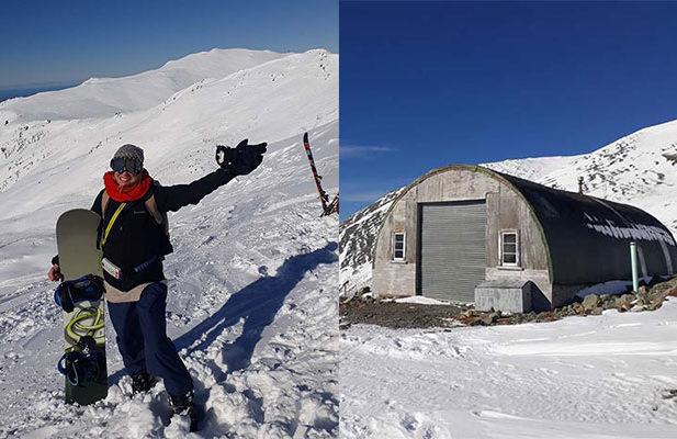 Uncrowded remote Awakino ski field new zealand