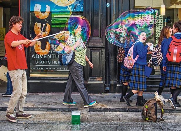 Dublin bubbles