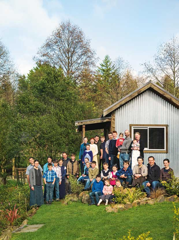 Kimbolton religious community launches tiny house and for Cost to build a house in indiana