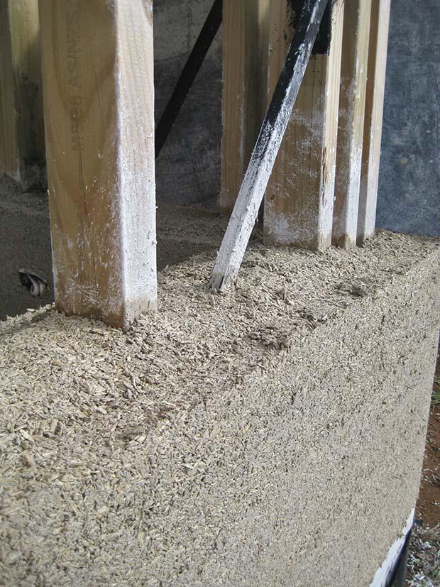 building a hemp house hempcrete