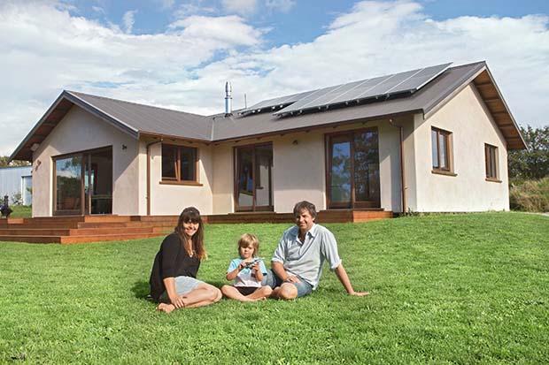 house built from hemp
