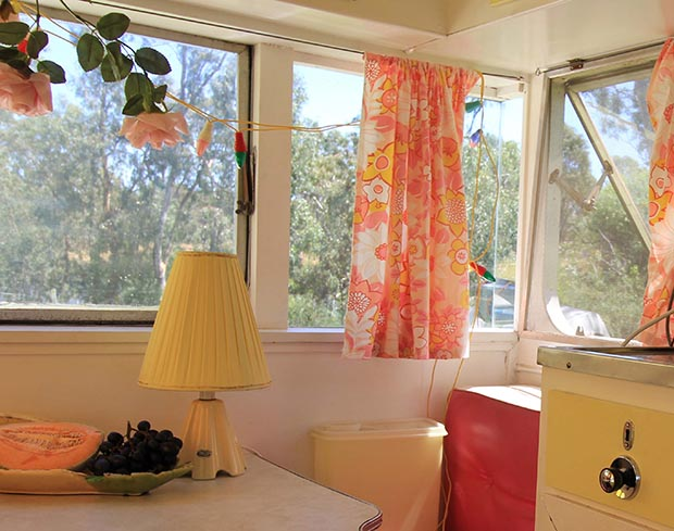 How to do-up your vintage or retro caravan: Excerpt from Vintage and