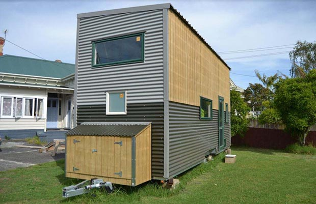 tiny house in Auckland