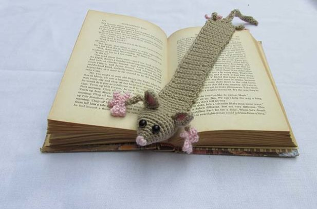 possum bookmark