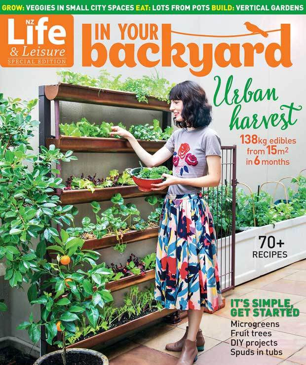 In Your Backyard Urban Harvest Online Extra Resources Thisnzlife