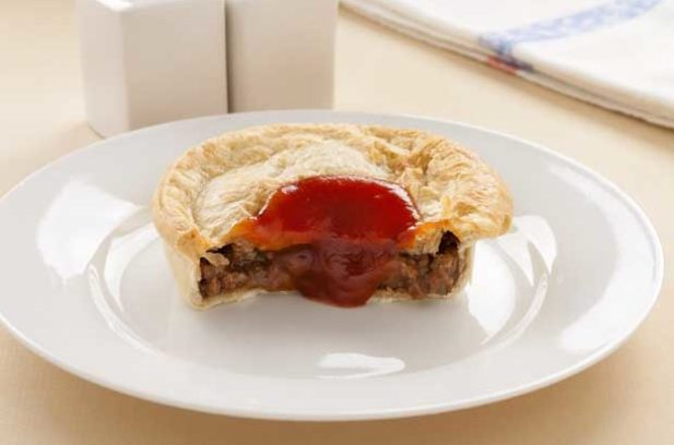 half meat pie
