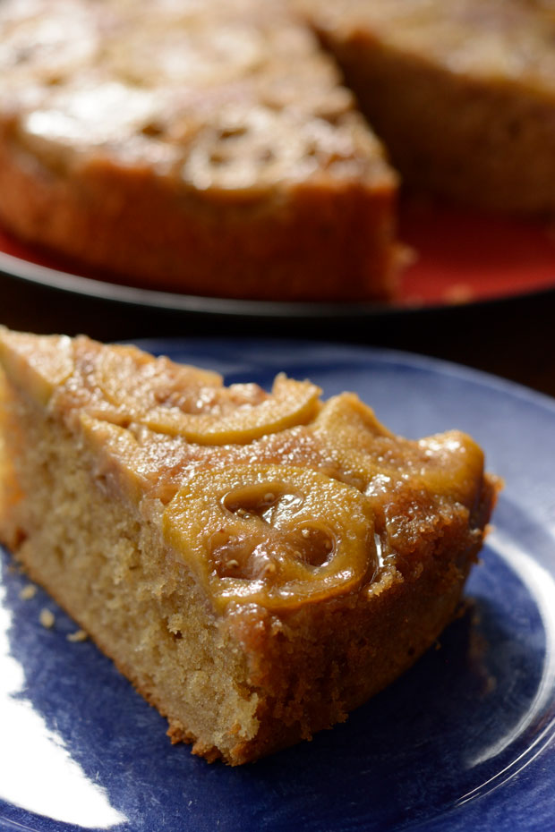 feijoa upside down cake