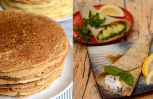 buckwheat pancake, buckwheat crepe