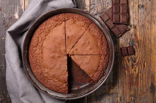 chocolate cake stevia