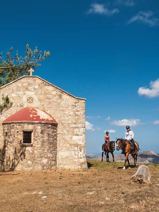 crete horseback