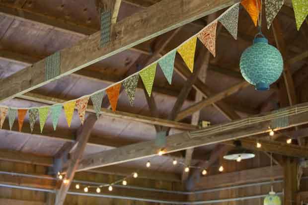wedding barn bunting