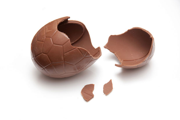 chcolate easter egg