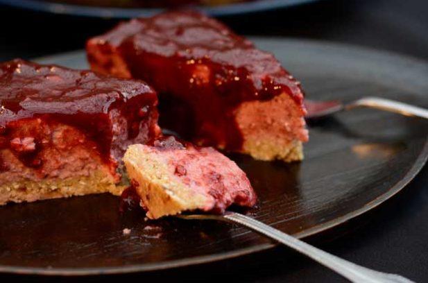 tamarillo cheesecake