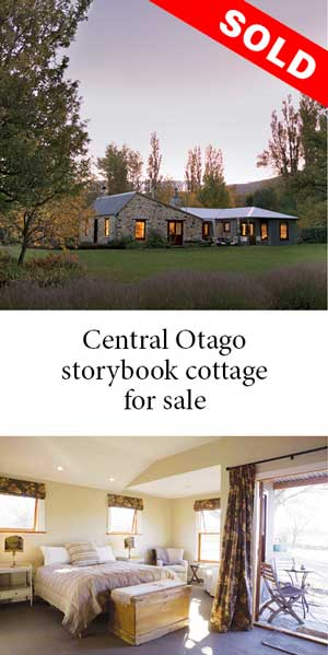 SOLD Enchanted storybook cottage near St Bathans in Central Otago
