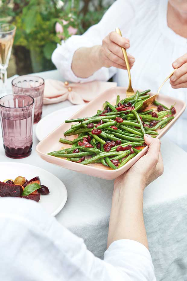 Recipe Green Bean Salad With Cranberries Thisnzlife