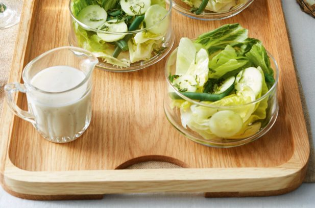 Recipe: Ruth Pretty's Iceberg Salad with Cucumber, Beans, Mint and Buttermilk Dressing