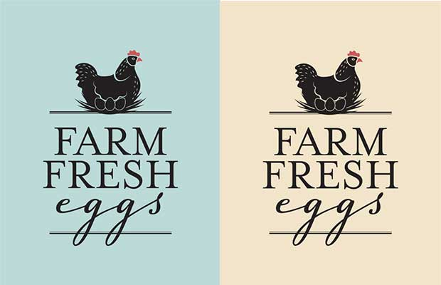 graphic relating to Printable Sign titled No cost Farm Refreshing Eggs printable indication - thisNZlife
